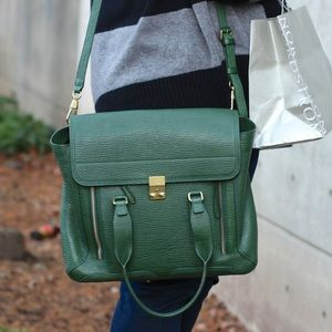 3.1 Phillip Lim Pashli Medium Bag Jade Green